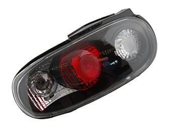Rear Lamp Set, Black, MX5 Mk1