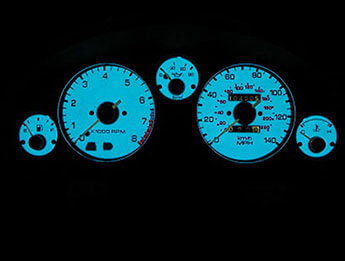 Indiglo Electroluminescent Dial Faces, Mazda MX5 Mk1