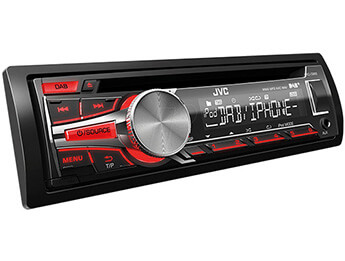 JVC KD-DB65 DAB/USB/CD Head Unit