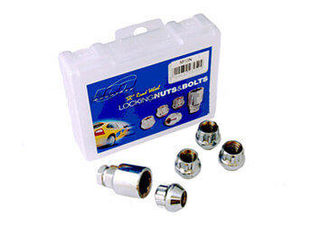 Locking Wheel Nut Set, Aftermarket, All MX5 Models