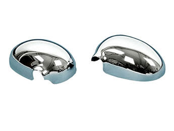 Chromed Door Mirror Covers, MX5 Mk1