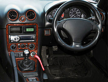Dash Kit, MX5 Mk2 1998>2000 Right Hand Drive