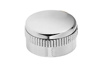 Chrome Fan Knob Cover Mazda MX5 Mk1