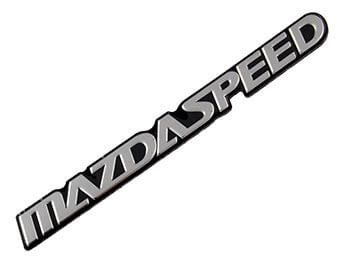 Mazdaspeed Badge, Small, All MX5 Models, 1989>