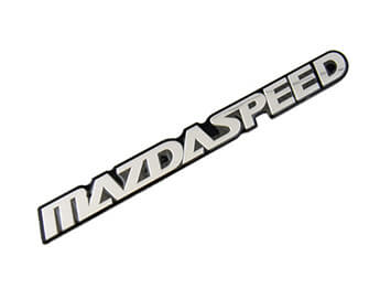 Mazdaspeed Badge, Large, All MX5 Models