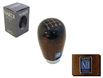 Wood Gearknob, Nardi, Mk2/2.5, 6 Speed Only