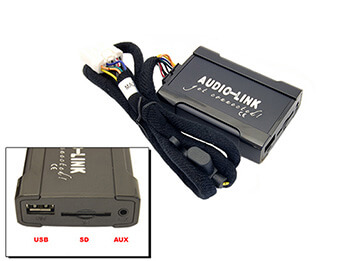 Audiolink for MP3 Player to Mazda Modular/Bose, Mk2/2.5/3