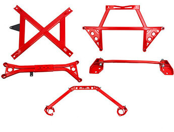 Chassis Brace Kit, Five Piece, MX5 Mk3/3.5/3.75