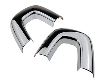 Seat Back Bar Covers, Chromed, MX5 Mk3/3.5/3.75