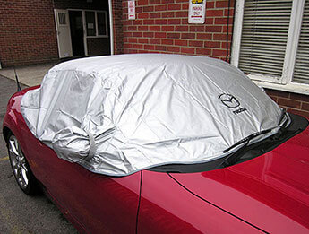 Half Body Cover, Genuine Mazda, MX5 Mk3/3.5/3.75