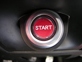 Engine Start Button, Mazda MX5 Mk3