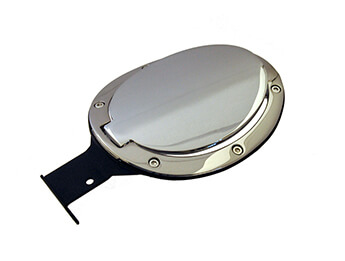 Chrome Fuel Filler Lid, Convertible Mk3/3.5/3.75