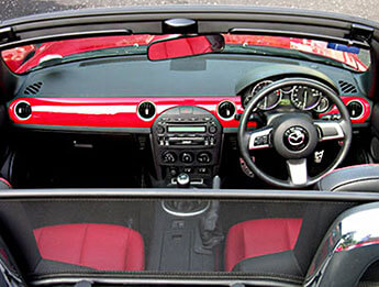 Dashboard Decoration Panel, Painted, Mazda MX5 Mk3/3.5