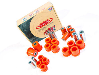 Bush Set, Polyurethane, Rear Wishbone, MX5 Mk3/3.5/3.75