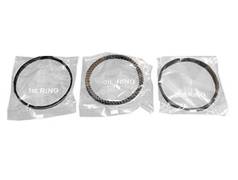 Piston Ring Set, MX5 Mk1 1800, 0.50 Oversize