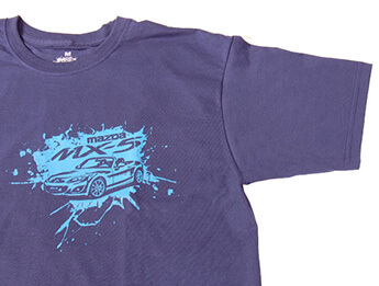 MX5 T-Shirt, Blue/Blue