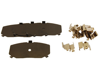 Brake Pad Fitting Kit, Front, MX5 Mk1 1.6