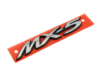 Mazda Rear MX-5 Badge, MX5 Mk3/3.5/3.75