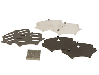 Front Brake Pad Shims, MX5 Mk3/3.5/3.75