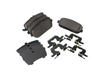 Rear Brake Pads, Genuine Mazda With Fittings, MX5 Mk3/3.5/3.75