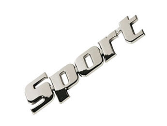 Chrome Sport Badge, All MX5 Models