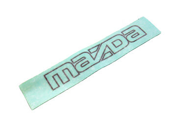 Mazda Sticker, Early MX5 Mk1 1989>1991
