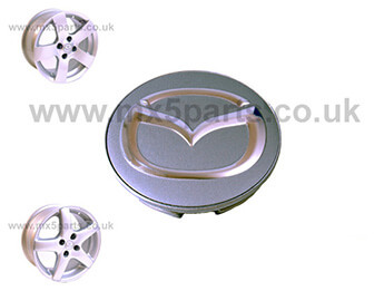 Alloy Wheel Centre Cap 55mm, MX5 Mk1/2/2.5