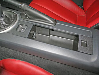 Centre Console Storage Tray & 12v Power Outlet, MX5 Mk3