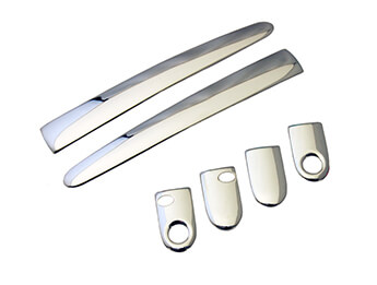 Chrome/Satin Door Handle Covers, Aftermarket, MX5 Mk3/3.5/3.75