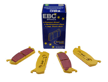 Rear Pads, EBC Yellowstuff, MX5 Mk1 1.6