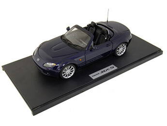 Mk3 Retractable Hardtop 1:18 Scale Model, LHD, Stormy Blue
