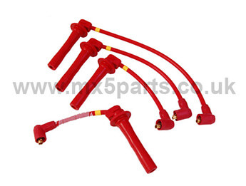 Magnecor KV85 8.5mm Competition Ignition Leads In Red