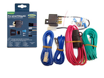 Prewired Accessory Fitting Kit