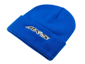 MX5 Beanie Hat, Blue With MX-5 Logo
