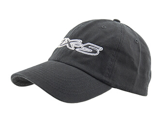 Cap, Black With Large MX5 Logo