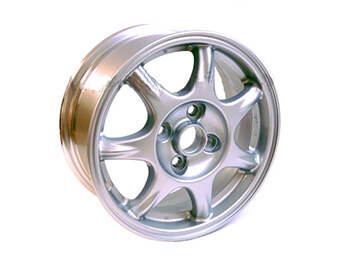 Alloy Wheel, Mazda MX5 Mk1 Later Type 6J x 14 Silver Finish