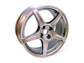 Alloy Wheel, Early Mazda MX5 Mk2 Turbo, Non UK