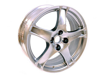 Alloy Wheel, Late Mazda MX5 Mk2 Turbo, Non UK