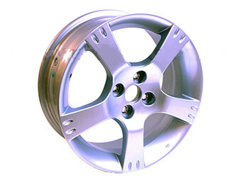 Alloy Wheel, 6.5J x 16, Mazda MX5 Mk2 Nevada Special Edition