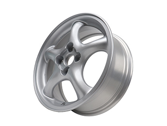 Alloy Wheel, Mazda MX5 Mk2 Sport, Rough Finish