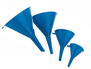 Four Piece Plastic Funnel Set