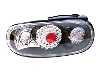 Rear Lamp Set, Black LED, MX5 Mk1