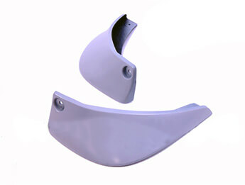 Mud Guards, Rear, Unpainted, MX5 Mk3.5/3.75