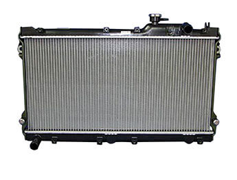 Radiator, Genuine Mazda, MX5 Mk2/2.5 Manual