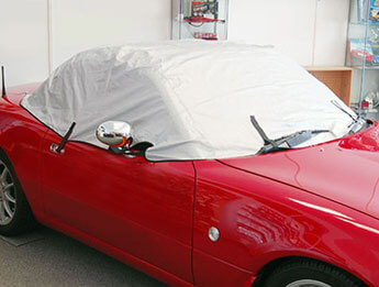 Indoor Half Body Cover, Mazda MX5 Mk1