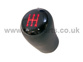 Genuine Mazda Piano Black Illuminating Gearknob, Mk3/3.5 5 Speed