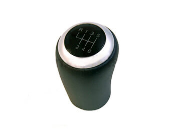 Illuminating Gearknob, Brushed Alloy, 6 Speed, Mk3/3.5/3.75