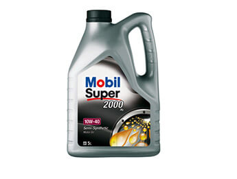 Engine Oil, Semi Synthetic 10W40, 5 Litres, MX5 Mk1/2/2.5