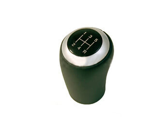 Leather & Brushed Aluminium Gearknob, 5 Speed, Mk3/3.5/3.75