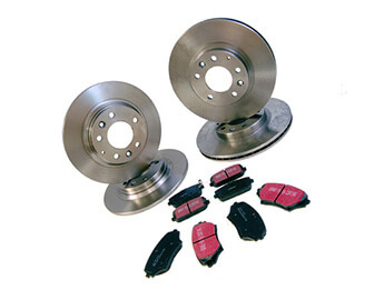 Discs & Pads Package, Aftermarket, MX5 Mk3/3.5/3.75